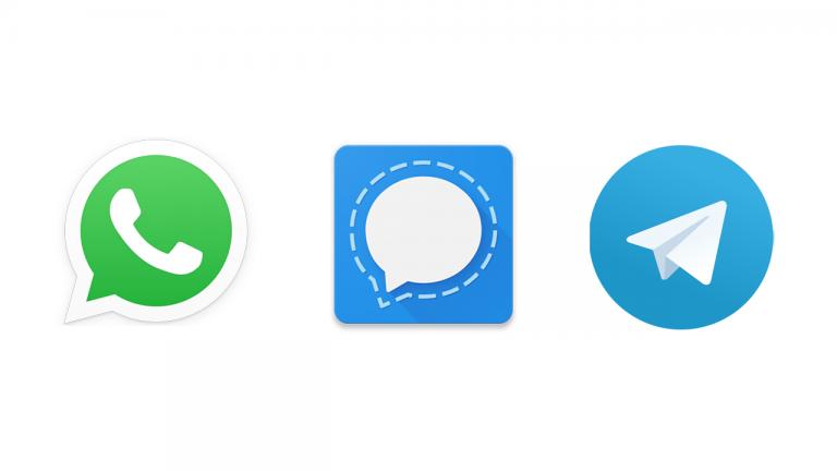 WhatsApp Vs. Signal Vs. Telegram
